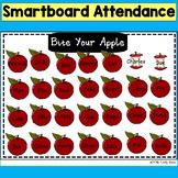 SMARTboard Attendance: Bite Your Apple(Smart board, Back to School)