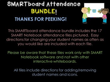 SMARTboard Attendance Bundle *SUBSCRIPTION*