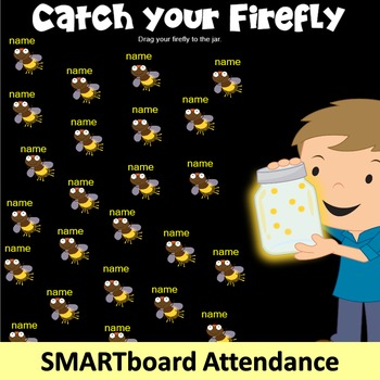 SMARTboard Attendance: Catch your Firefly (Smart board)