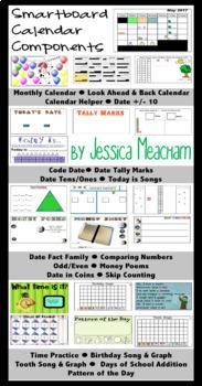 SMARTboard Calendar Math
