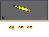 SMARTboard Construction de mots: à l'école