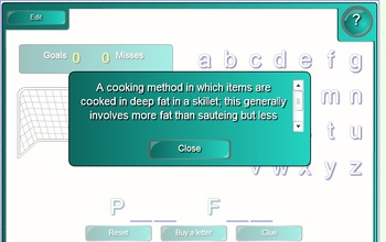 SMARTboard Culinary Arts Methods Activities-2 Fun Games! FACS, Cooking