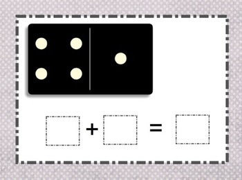 SMARTboard Domino Addition Practice