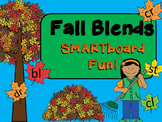 SMARTboard FALL Blends Fun!  (CCVC, blends, smart board)