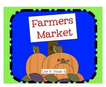 """Reading Street """"Farmers Market"""" SMARTboard First Grade Unit R Week 6"""