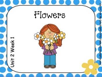 SMARTboard Flowers Reading Street Unit 2 Week 1