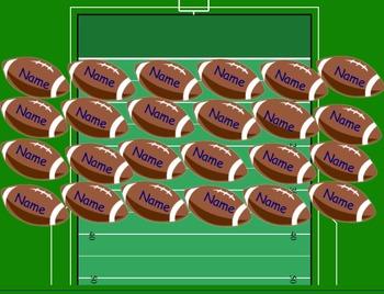 SMARTboard Attendance- Football