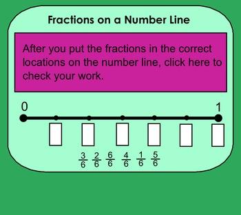 SMARTboard Fractions Bundle