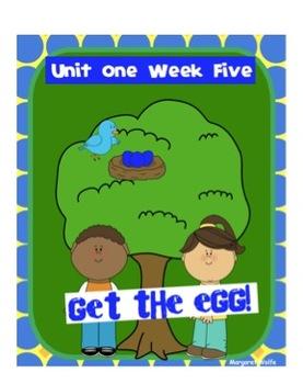 "Reading Street ""Get the Egg!"" SMARTboard 1st Grade Unit 1 Week 5"