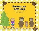 SMARTboard Goldilocks and the Three Bears Reading Street Unit 4 Week 4