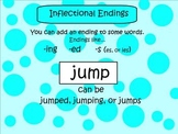 SMARTboard Inflectional Endings