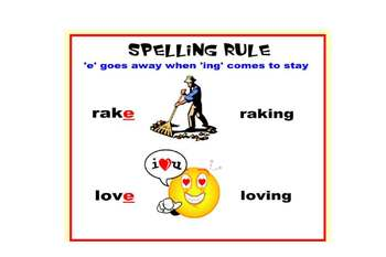 SMARTboard Interactive Spelling Rules