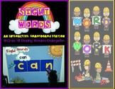 SMARTboard Interactive Word Work Kindergarten Reading Wonders Sight Words