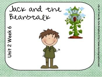 SMARTboard Jack and he Beanstalk Unit 2 Week 6