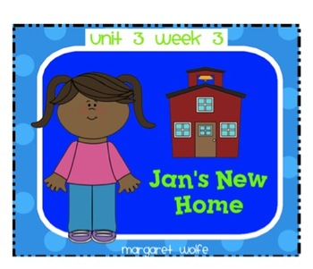 "Reading Street ""Jan's New Home"" SMARTboard-First Grade- Un"