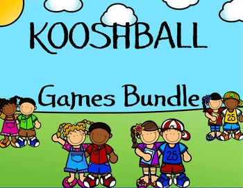 SMARTboard Kooshball Games Bundle Pack for the Entire Year!