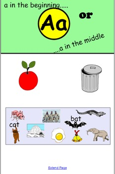 SMARTboard: Letters and Sounds