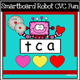 Valentine's Day CVC Fun for SMARTboard