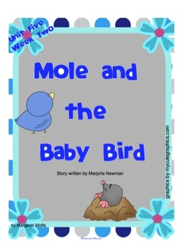 "Reading Street  ""Mole and the Baby Bird"" SMARTboard 1st Gr"