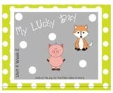 SMARTboard My Lucky Day Reading Street Unit 4 Week 2