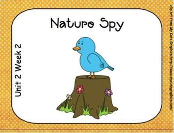 SMARTboard Nature Spy Reading Street Unit 2 Week 2