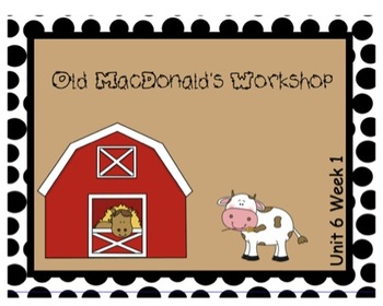 SMARTboard Old MacDonald's Workshop Unit 6 Week 2