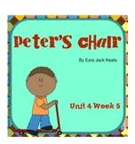 "Reading Street ""Peter's Chair"" SMARTboard Unit 4 Week 5 First Grade"