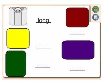 SMARTboard Phonemic Awareness:  Short & Long Vowel Picture I.D.