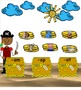 SMARTboard  Pirate CVC FUN! (phonics, short vowels, word fun)