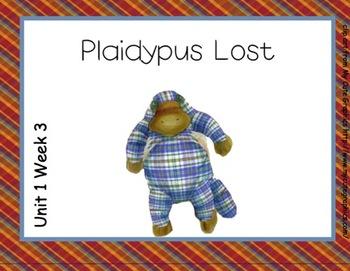 SMARTboard Plaidypus Lost Reading Street Unit 1 Week 3