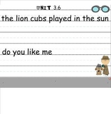 SMARTboard Reading Street Fix it Sentences Kindergarten Units 1-3
