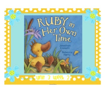 "Reading Street ""Ruby in Her Own Time"" - SMARTboard - First Grade Unit 3 Week 2"