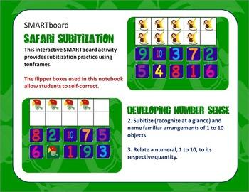 SMARTboard Safari Subitization