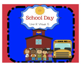 "Reading Street ""School Day"" SMARTboard First Grade Unit R Week 5"