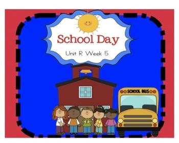 """Reading Street """"School Day"""" SMARTboard First Grade Unit R Week 5"""
