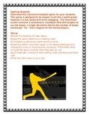 SMARTboard Spelling Baseball