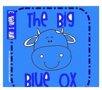 "Reading Street ""The Big Blue Ox"" SMARTboard First Grade Un"