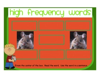 "Reading Street ""The Class Pet"" SMARTboard First Grade Unit 3 Week 3"