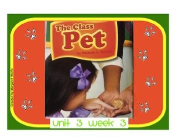 "Reading Street ""The Class Pet"" SMARTboard First Grade Unit"