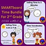 SMARTboard Time Bundle for 2nd Grade - CCSS 2.MD.C.7