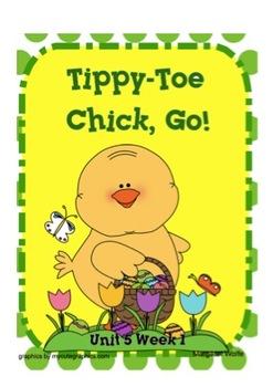 "Reading Street ""Tippy-Toe Chick, Go!"" SMARTboard First Grade Unit 5 Week 1"