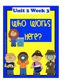 "Reading Street  ""Who Works Here?"" SMARTboard 1st Grade Unit 2 Week 3"