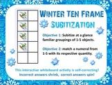 SMARTboard Winter Subitization