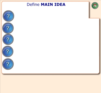 SMARTboard interactive lessons for reading comprehension ELA test prep