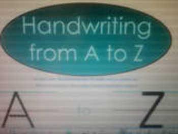 SMARTbook Handwriting A-Z unit