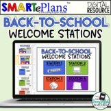 Digital Back-to-School Stations - Welcome Students Back -