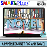 SMARTePlans Activities for Any Novel - Distance Learning