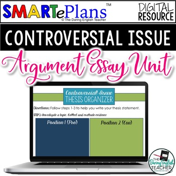 Digital Controversial Issue Argument Paper - Distance Learning