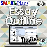 Digital Essay Outline for Distance Learning and Google Classroom