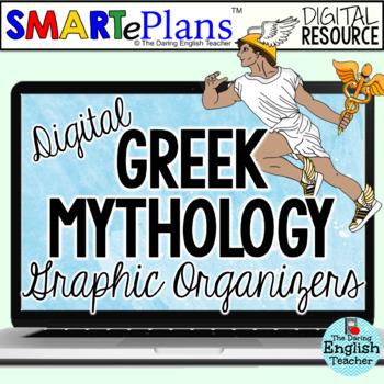 SMARTePlans Digital Greek Mythology Graphic Organizers
